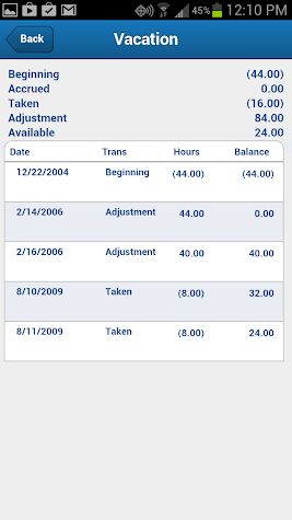 GovCon Time & Expense Screenshot