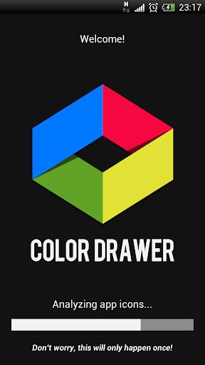 Color App Drawer FREE
