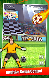 Flick-n-Score - Soccer Edition- screenshot thumbnail