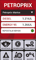 Screenshot of PetroPrix