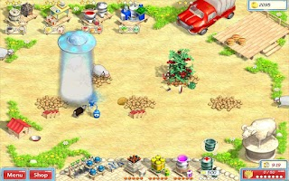 Screenshot of Sunshine Acres Tablet