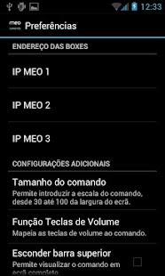 Comando MEO - screenshot thumbnail