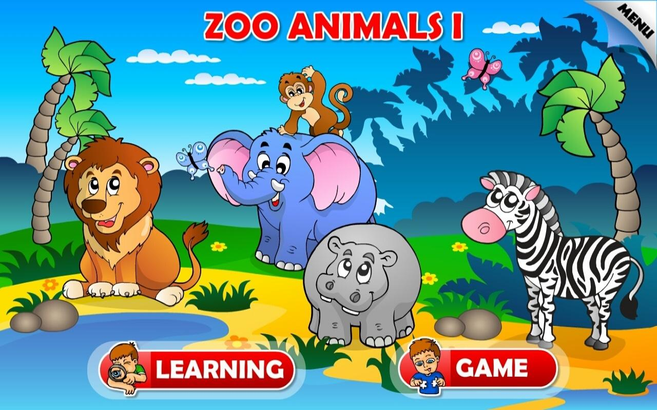 Animals Pictures For Kids Kids Animals Farm and Zoo Free