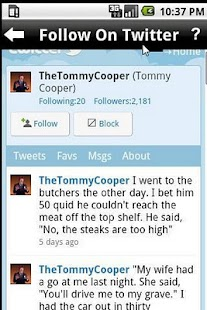 Tommy Cooper - Jokes and more - screenshot thumbnail