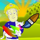 Fireman Coloring