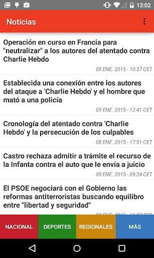 España Noticias y Periódicos