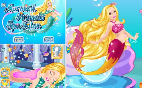 Mermaid Princess Spa Salon