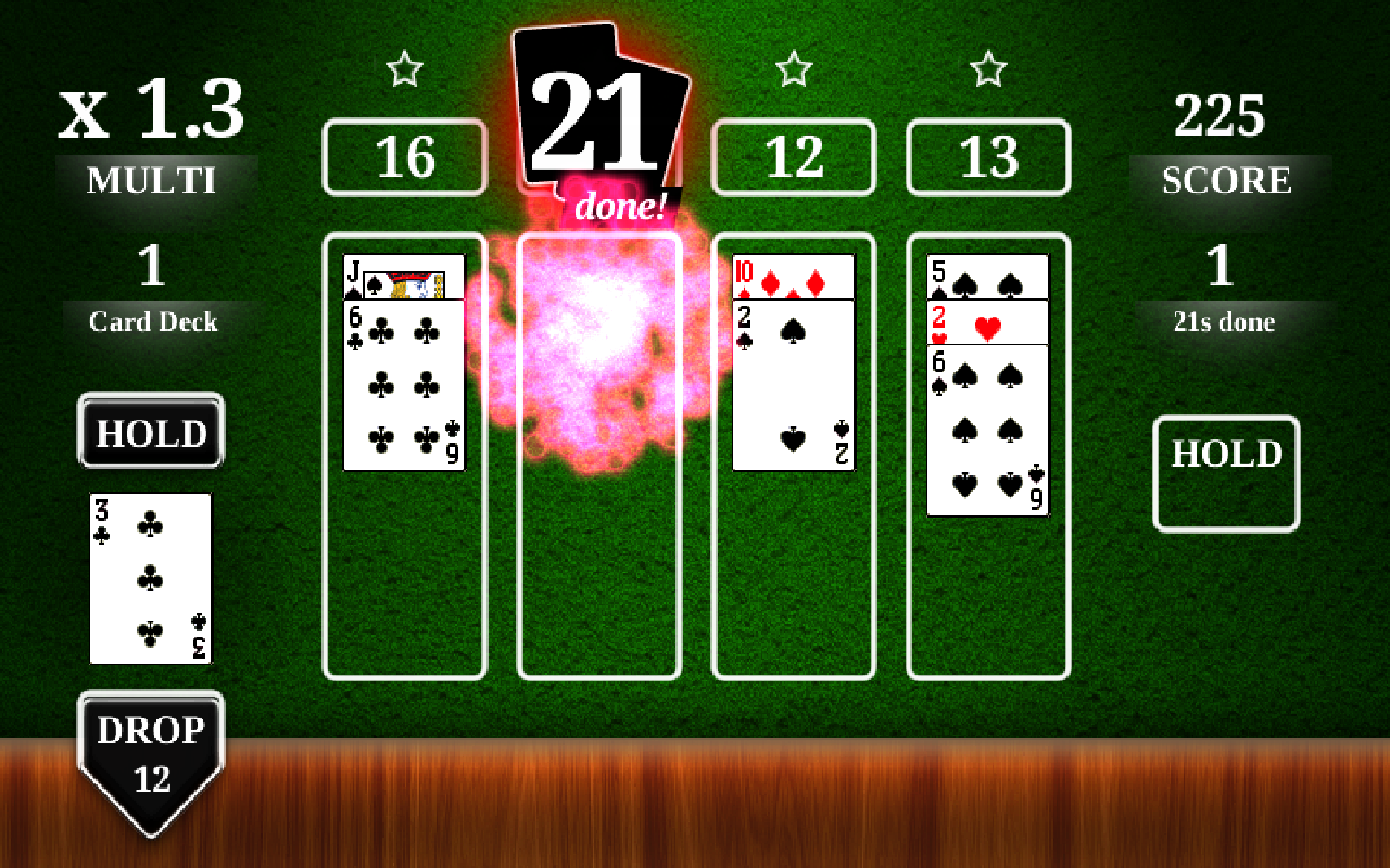 how to play 21 3 blackjack