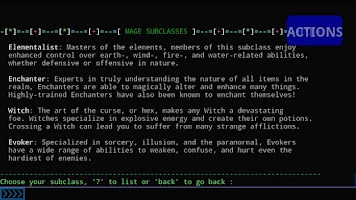 Screenshot of Aardwolf RPG
