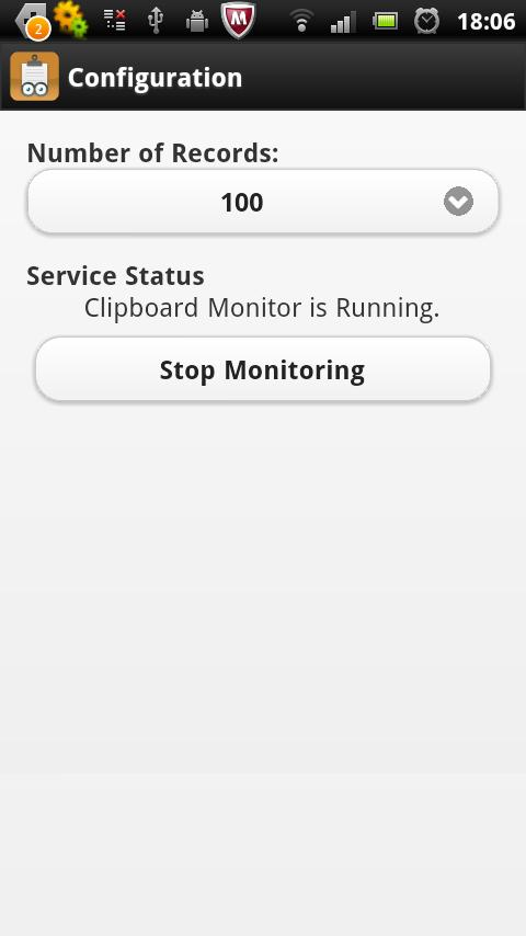 Clipenstein: Clipboard Manager- screenshot