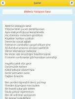 Screenshot of Şairler ve Şiirleri