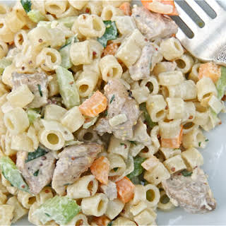 New Age Macaroni Salad.