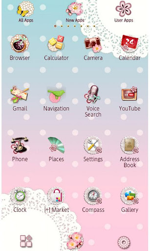 Japanese Lace Wallpaper Theme 1.3 Windows u7528 3