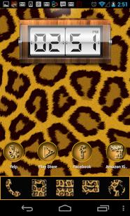 玩個人化App|GO Launcher Gold Leopard theme免費|APP試玩