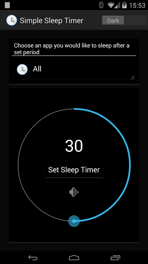 Super Simple Sleep Timer- screenshot