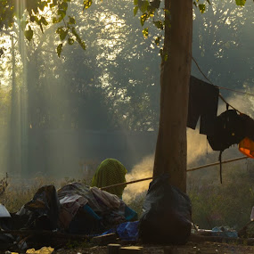 Rays of Hope by Nitesh Badave - Landscapes Travel ( ray, travel, pune, morning, sun )