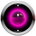 poweramp skin pink 3d icon