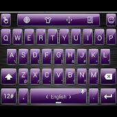 Theme TouchPal Metal Purple