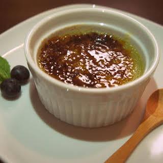 Matcha Green Tea Crème Brûlée.