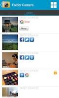 Screenshot of Folder Camera