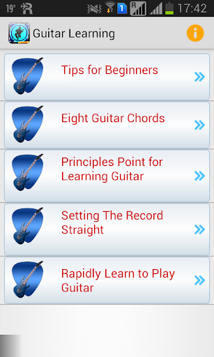 Guitar Learning