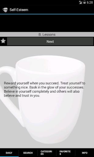 Self-Esteem. Method and Quotes