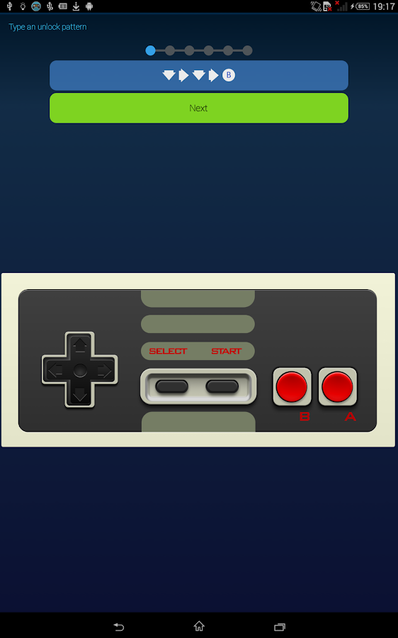 Gamepad Screen Locker- screenshot
