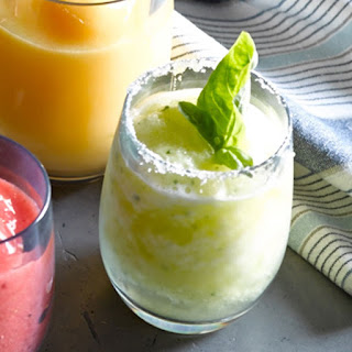 Pineapple-Basil Freeze