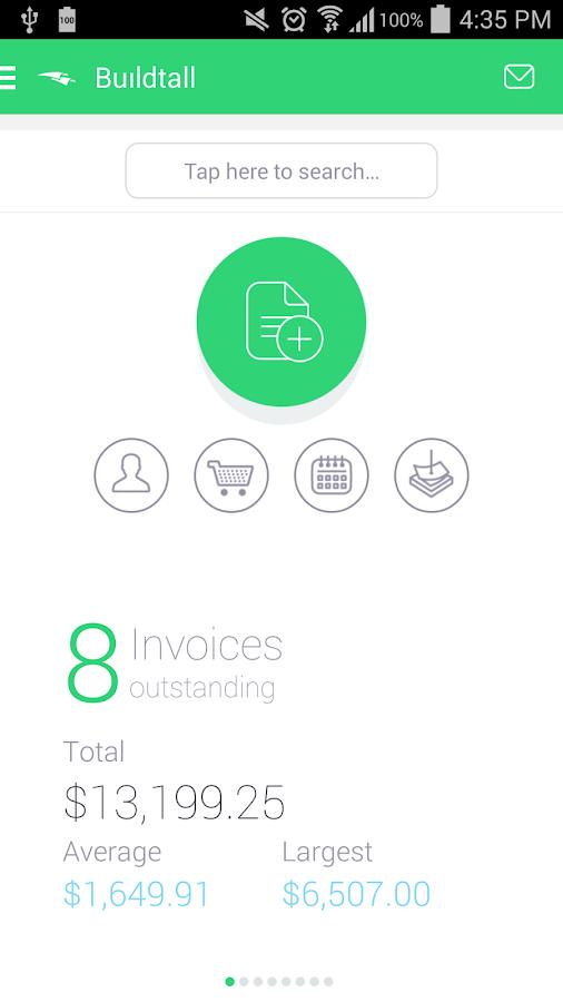 Invoice2go-Invoice on the Job - screenshot