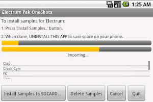 Screenshot of Electrum Pak OneShots