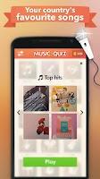 Screenshot of Music Quiz