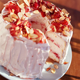 Strawberry Angel Cake.