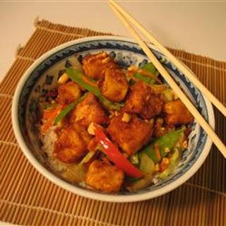 Tofu Peanut Stir-Fry.