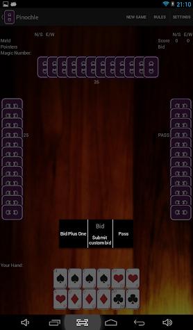 Pinochle Screenshot