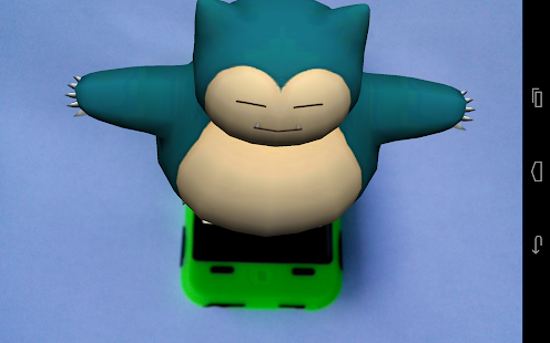 3D A.R. Pokedex: App 2