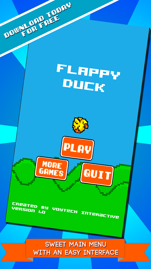 Flappy Duck- screenshot