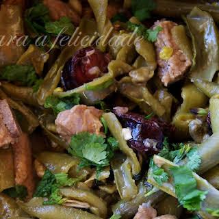 Pork and Green Bean Stir Fry.