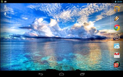 Blue Sea Interactive Live Wallpaper