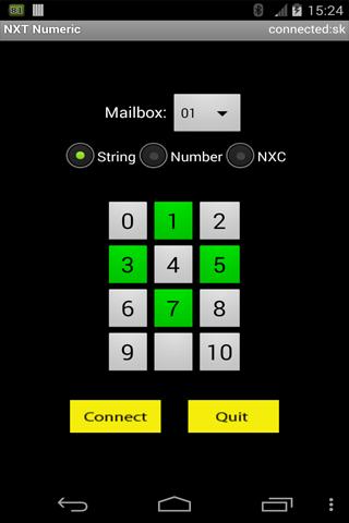 NXT Numeric Remote
