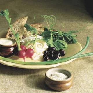 Spring Vegetable Plate Recipe