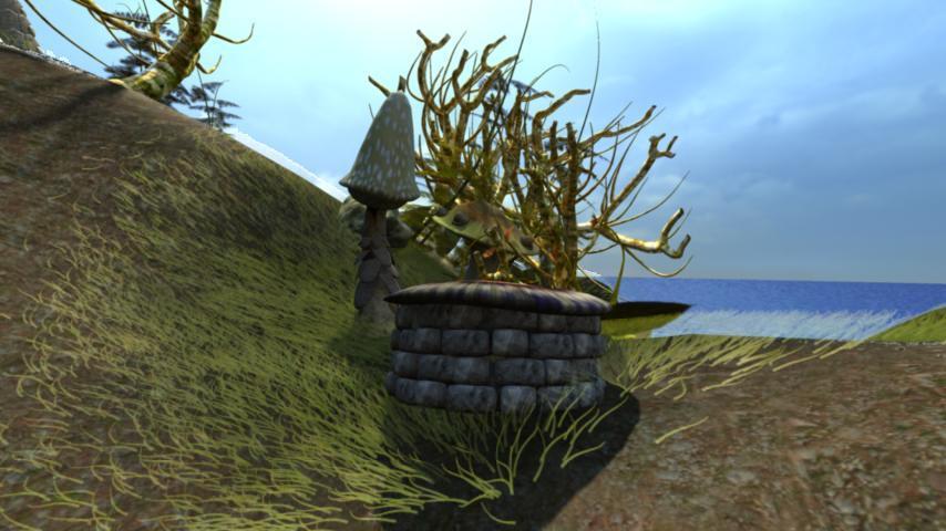 Reedu: A 3-D Adventure Game - screenshot
