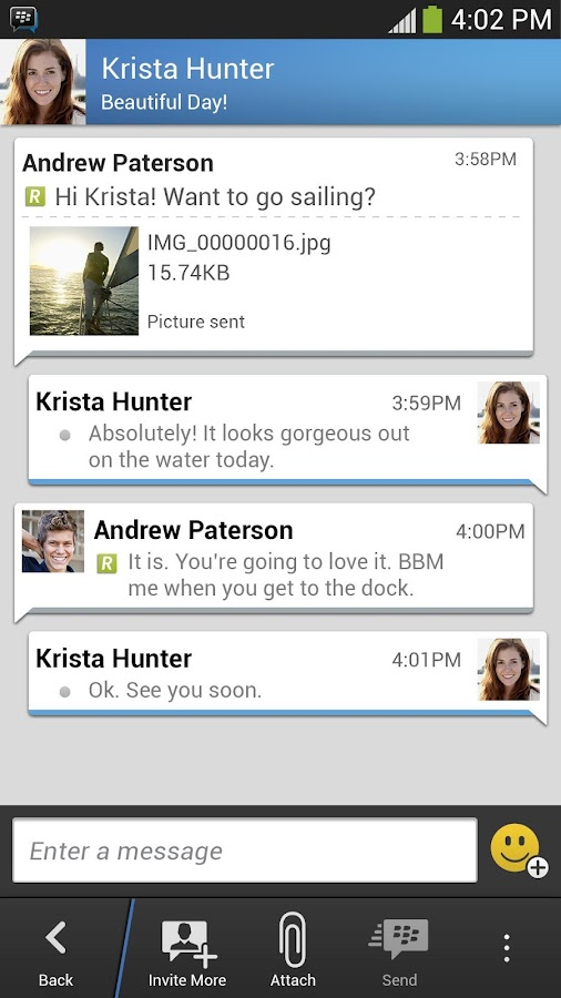 Download BBM for android devices free