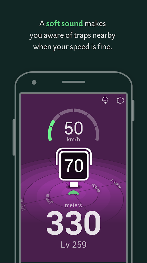 CruzeBy - Speed Cameras- screenshot