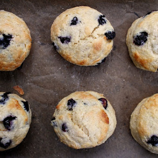 Maple Blueberry Scones.