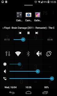 Quick Control Panel- screenshot thumbnail