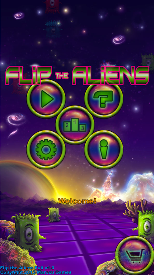 Flip the Aliens Free- screenshot