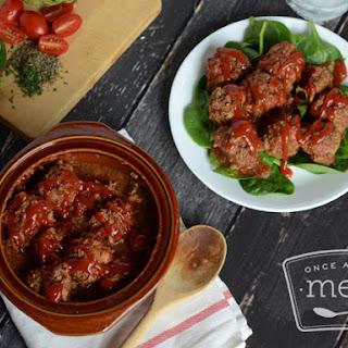Paleo Crockpot Meatballs