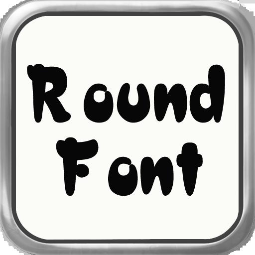 圓形字體Flipfont LOGO-APP點子