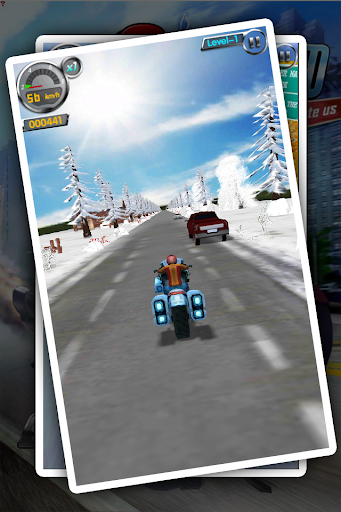 Turbo Speed Road Rash Moto