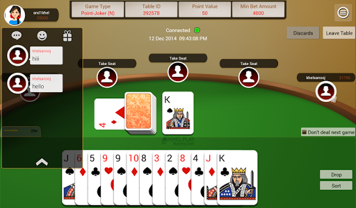 KhelPlay Rummy u2013 Indian Rummy  gameplay | by HackJr.Pw 7